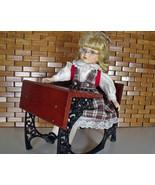 American Girl Samantha's School Desk / Cast Iron Pleasant Co & Doll - $75.00