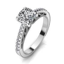Round Cut Diamonds Engagement Ring - $570.00