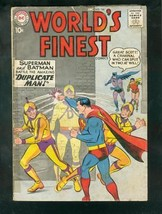 WORLD'S FINEST #106 1959-BATMAN-SUPERMAN-GREEN ARROWWW G - $31.53