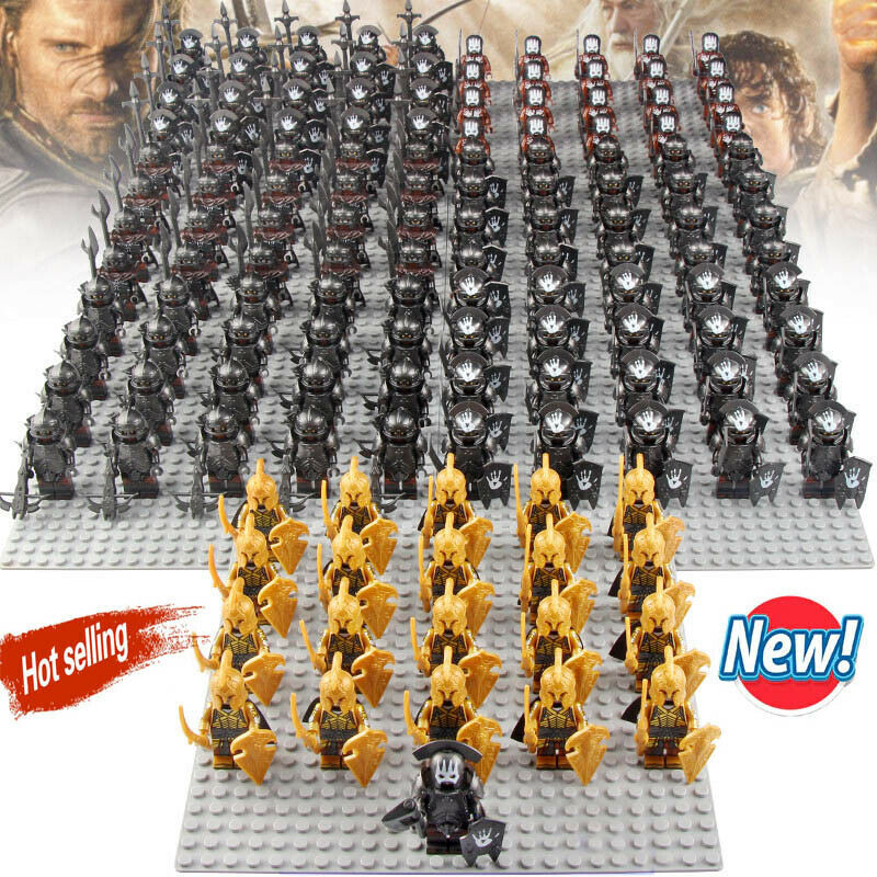 Primary image for 21Pcs/set Noldor Elf Guard Uruk-hai Army The Lord of the Rings Minifigures Block