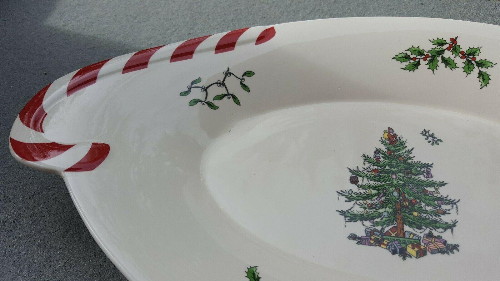 Spode Christmas Tree Hexagonal Dish 7.5 Gold Serveware Kitchen ...