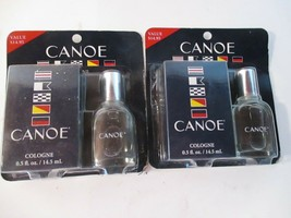 2 Packages Canoe Cologne 0.5 fl oz Dana Classic - $11.87