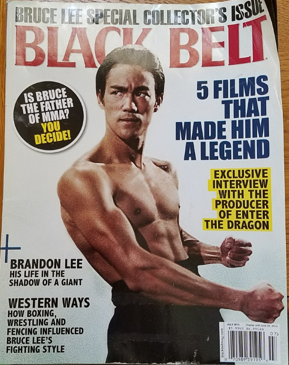Bruce Lee Black Belt Magazine Special Collector's Issue ...