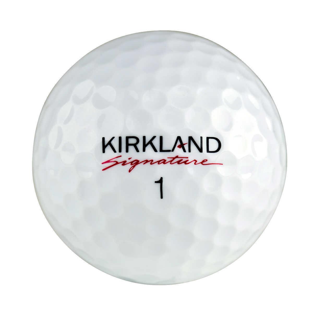 Kirkland Signature 3-piece Urethane Cover Golf Ball, 2 ...
