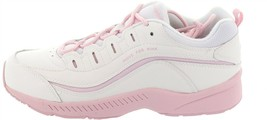 Easy Spirit Suede Walking Sneaker Romy White Ballerina 7M NEW S9437 - €38,62 EUR