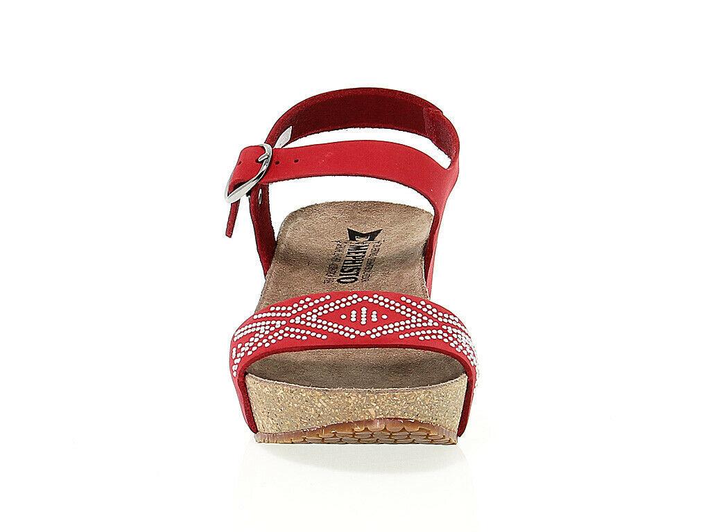Keilschuhe MEPHISTO FANIE SP R in rosso nabuk - Schuhe Damen