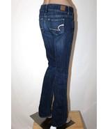 "AMERICAN EAGLE ""Artist"" Women's 2 Long Flare Boot Cut Stretch Jeans 34"" ... - $27.08"