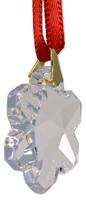 Swarovski 25mm Clear Crystal Snowflake Prism image 2