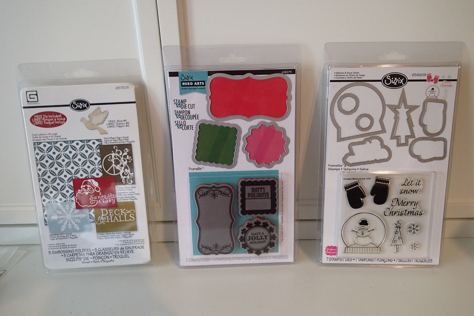 Sizzix Stamp Die Christmas Holiday Tags and 10 similar items