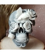 Handmade soap - Skull and Roses scented soap, 2 pcs soaps a set, made in... - $15.84