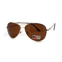Polarized Lens Aviator Sunglasses Unisex Fashion Spring Hinge - $9.95