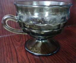 Punch / Snack Cup - Whitehall Green (Avocado) by COLONY 1960's. - $8.00