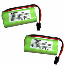 2-Pack HQRP Cordless Phone Batteries for Uniden D1660 D1680 D1685 D1688 DCX160 - $13.45