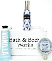 Bath & Body Works Sweater Weather Scentportable, Room Spray, Vanilla Han... - $19.29