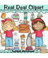 Spring cleaning clip art thumbtall