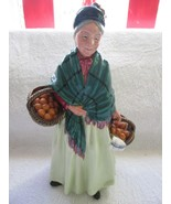 "Royal Doulton ""The Orange Lady"" Made in England HN1253 8 1/2"" - $50.00"