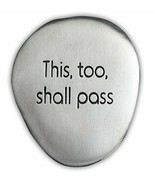 This, Too Shall Pass Soothing Stone by Cathedral Art - Engraved with Ins... - $9.90