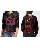 Deadpool Fuck Cancer SWEATSHIRT WOMEN - $40.99+