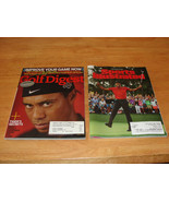 SI Masters Win & Golf Digest Magazine Jan 2008 Tiger Woods (Tiger's Secr... - $9.79