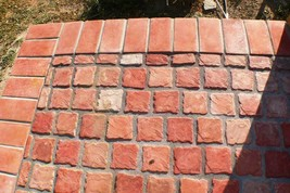 "12 COBBLESTONE PAVER TILE WALL COUNTER PATIO FLOOR MOLDS 4""x4"" MAKE FOR PENNIES image 2"