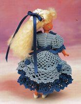 "7-1/2"" Fashion Doll Beach Playtime Summer Teatime Slumber Party Crochet Pattern image 2"