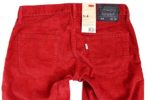 NEW LEVI'S STRAUSS 514 MEN'S ORIGINAL SLIM FIT STRAIGHT LEG JEANS PANTS 514-0371