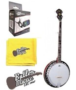 Oscar Schmidt OB5 Gloss 5 string banjo w/resonator with Effin Tuner Bundle - $199.95