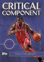 2005-06 Topps Critical Component Rockets Basketball Card #CC9 Tracy McGrady - $4.00