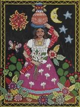 """Janlynn Cross Stitch Pattern Kit-FOLK ART- Approximately Finished Size 10"""" x 12"""" - $13.95"""