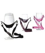 WineYoke Lanyard Wine Glass Holder Wine Party Hand Free Wine Glass Necklace - $7.99