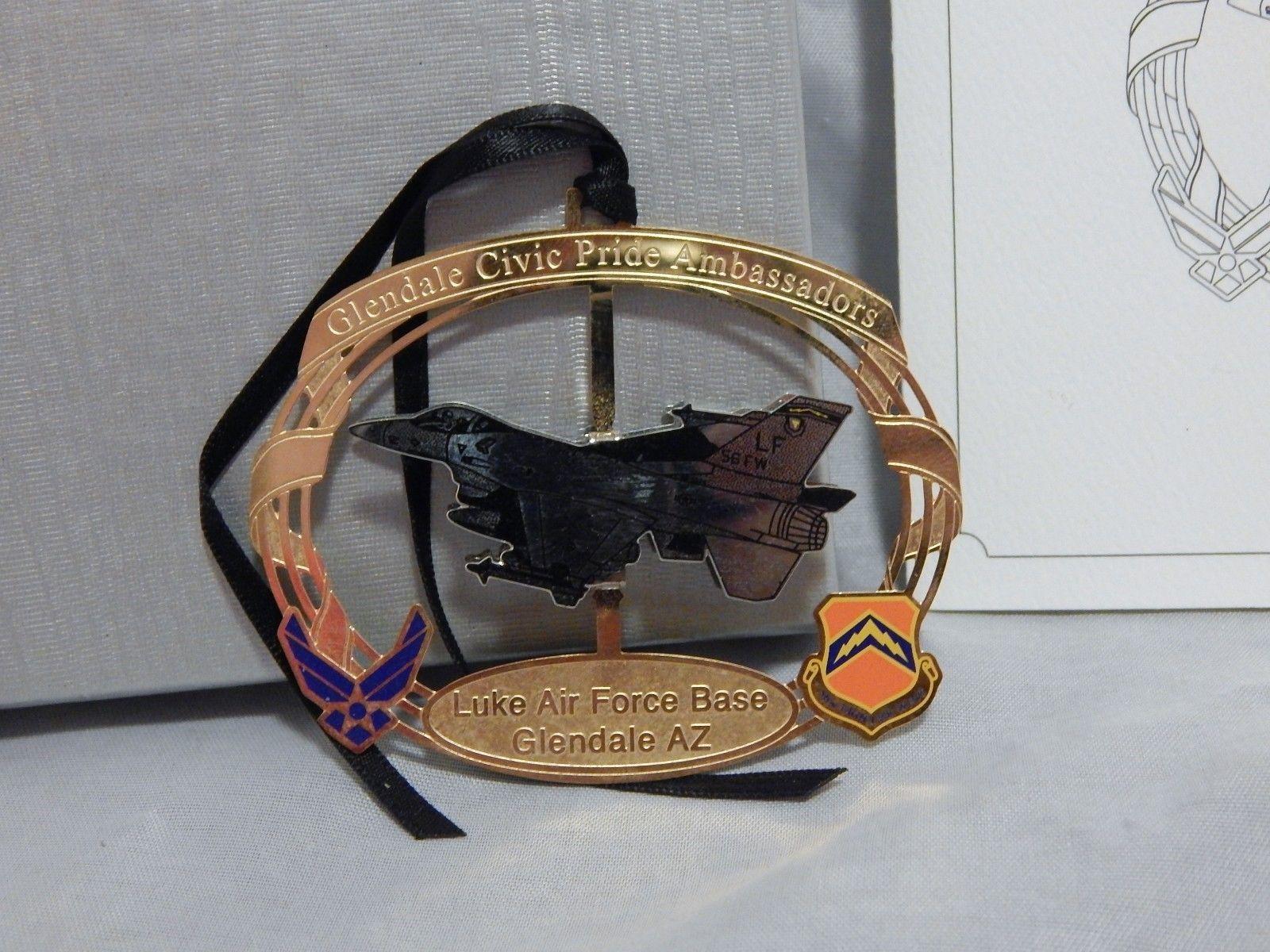 Luke Air Force Base Glendale Arizona Ornament