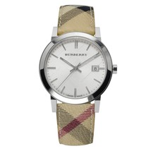 Burberry BU9025 Heritage Leather Swiss Made Womens Watch - $184.90