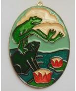 "Frogs Sun Catcher 5.1/4"" x 3.5/8"" - $16.50"