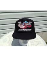 Harley Davidson Hawg Hog Wild Pig Boar Emblem Mesh Trucker Cap Hat 3D VT... - $197.99