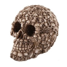 Boneyard Skull Decorated Desktop Skull Figurine - ₨1,021.39 INR