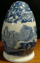 VTG SPODE BLUE ITALIAN PEPPER SHAKER (2 available) Older blue mark - $28.05