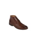 Stafford Dix Mens Chocolate Brown Dress Boots M 10 - $150.00