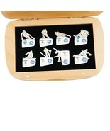 Set of 8 2010 Vancouver GE Sponsor Paralympic Pins with Original Case - $178.48