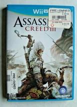 Assassin's Creed III 3 (Nintendo Wii U, 2012) - $6.90