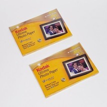 "2 Packs of 20 Kodak Ultima Picture Paper 4x6"" Photo High Gloss - FOR ALL INKJET - $13.75"