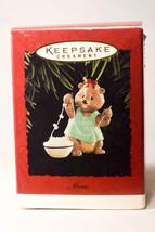 Hallmark: Mom - Stringing Popcorn - 1995 - Holiday Ornament - $9.67