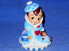 "GET WELL  Expressions of Love Demdaco 2002 Collectible 3"" Figurine  - $45.41"