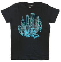 Bench Uomo Nero Blu Xray Altoparlanti Musica Giradischi Boombox City T-Shirt Nwt