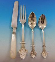 Louis XIV by Gorham Sterling Silver Flatware Set Service 56 Pieces Antique c1870 - $6,695.00