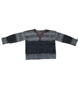 NORDIC SWEATER SIZE L vintage handmade wool traditional northern scandin... - $50.48