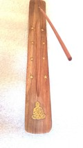 buddah brass inlay insence holder ideal  sticks or cones these are madeto order