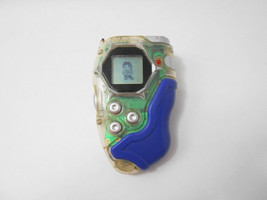 Bandai Digimon Frontier Digivice D-Tector Version 2 D-Scanner Clear Blue Color - $103.95