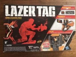 New NERF Hasbro Lazer Laser Tag Single Blaster Pack Gun Use w/ iPhone/iPod - $32.48