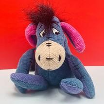 Eeyore plush stuffed animal Walt Disney Store Knotty Winnie Pooh bean ba... - $13.50