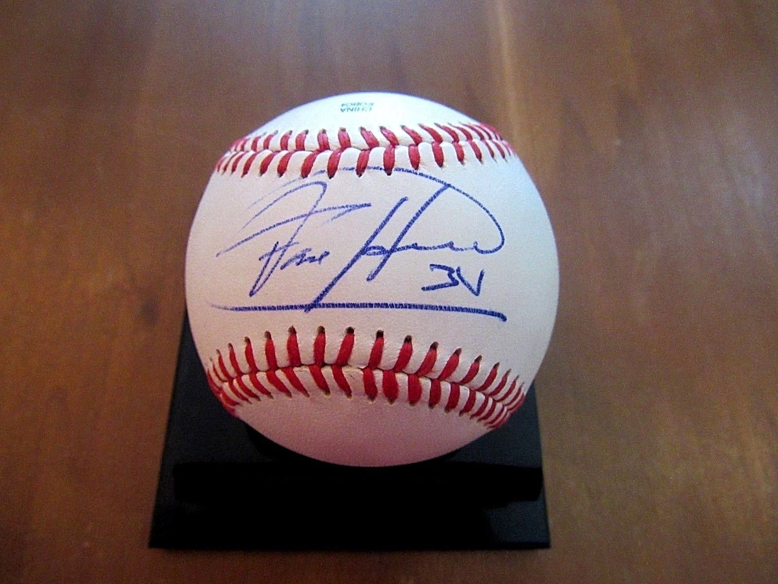 Primary image for FELIX HERNANDEZ CY YOUNG PG SIGNED AUTO VENEZUELA PRO BASEBALL JSA AUTHENTIC